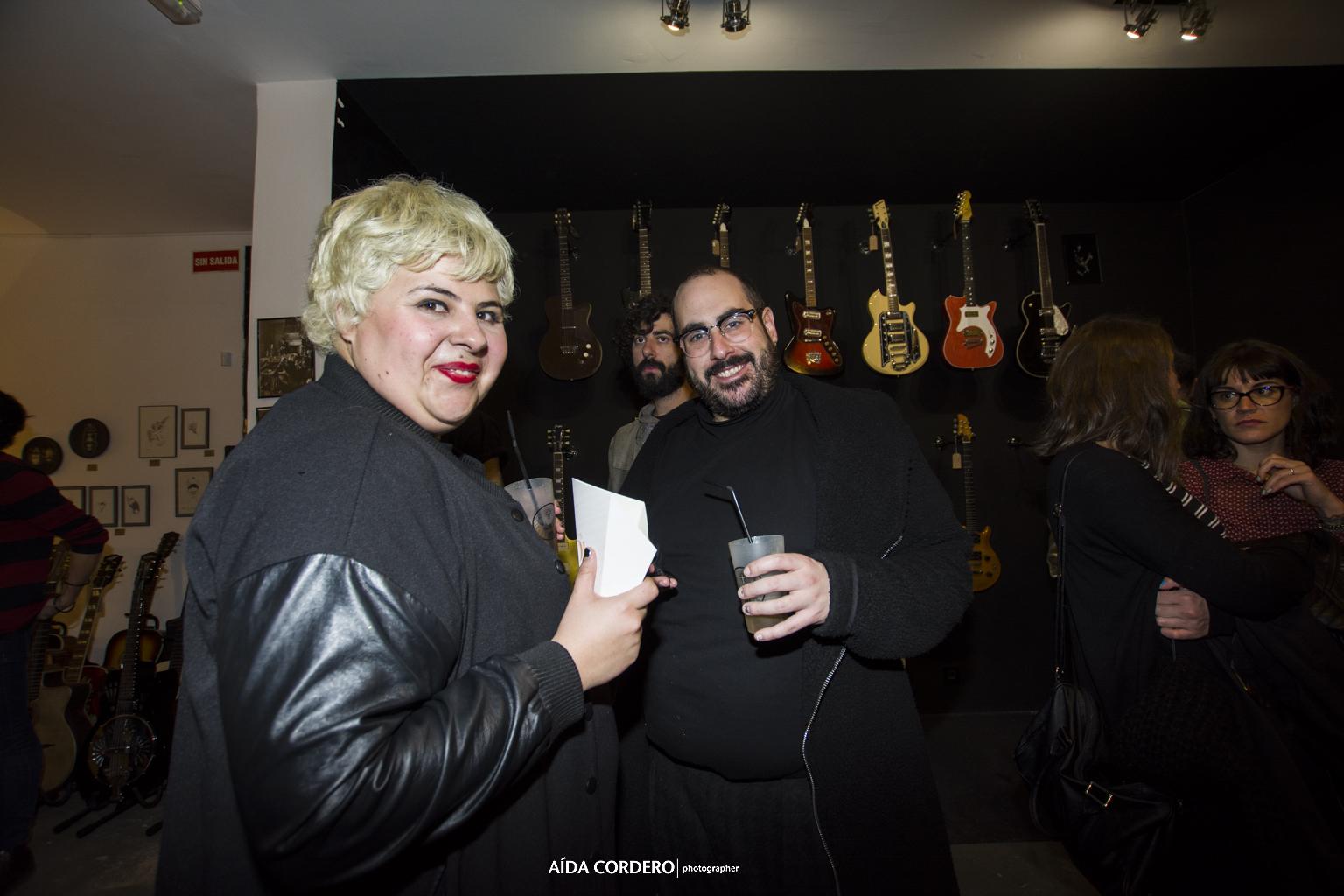Alberto Velasco en fiesta Paredes