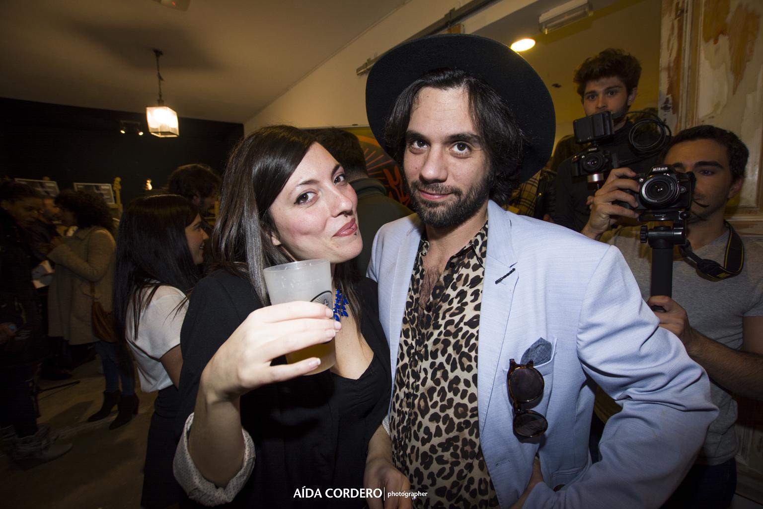 Aaron Saez de Varry Brava en la fiesta Paredes